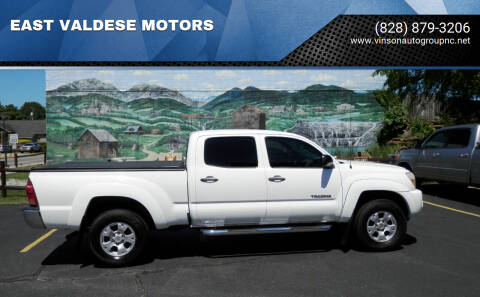 2007 Toyota Tacoma for sale at EAST VALDESE MOTORS in Valdese NC