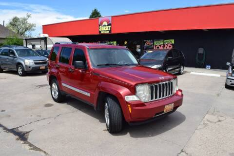 2008 Jeep Liberty for sale at Sunset Auto Sales & Repair in Lasalle CO