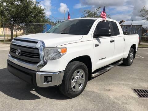 2015 Toyota Tundra for sale at Ven-Usa Autosales Inc in Miami FL