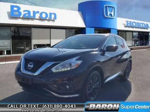 2017 Nissan Murano for sale at Baron Super Center in Patchogue NY