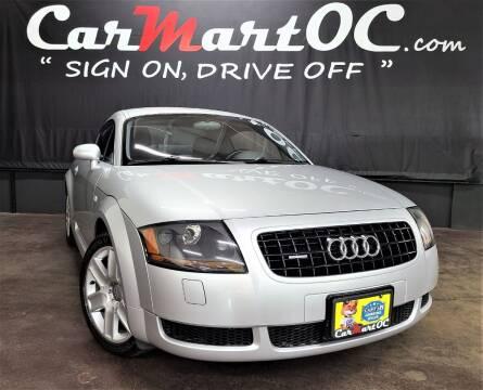 2005 Audi TT for sale at CarMart OC in Costa Mesa CA