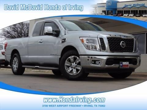 2017 Nissan Titan for sale at DAVID McDAVID HONDA OF IRVING in Irving TX
