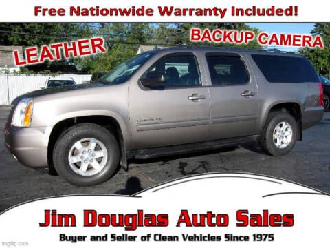 2013 GMC Yukon XL for sale at Jim Douglas Auto Sales in Pontiac MI