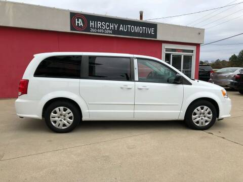 2014 Dodge Grand Caravan for sale at Hirschy Automotive in Fort Wayne IN