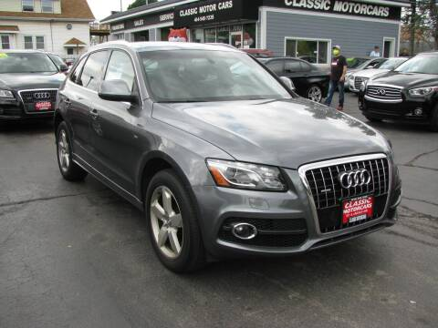 2012 Audi Q5 for sale at CLASSIC MOTOR CARS in West Allis WI