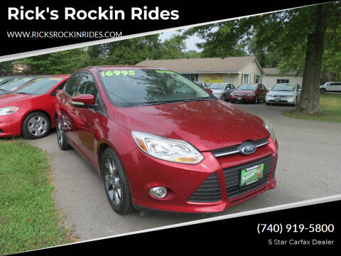 2013 Ford Focus for sale at Rick's Rockin Rides in Reynoldsburg OH