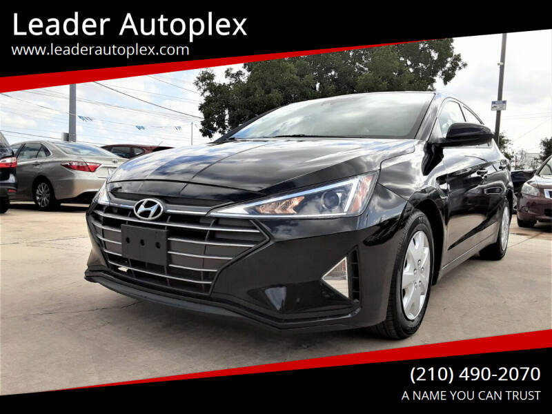 2020 Hyundai Elantra for sale at Leader Autoplex in San Antonio TX