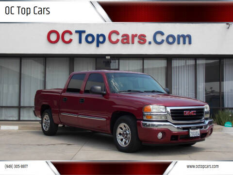 2006 GMC Sierra 1500 for sale at OC Top Cars in Irvine CA
