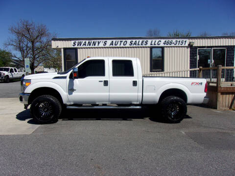 2012 Ford F-250 Super Duty for sale at Swanny's Auto Sales in Newton NC