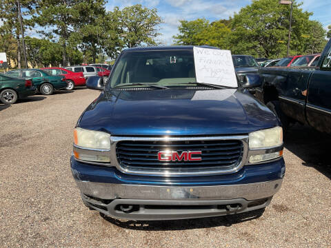 2001 GMC Yukon for sale at Continental Auto Sales in White Bear Lake MN
