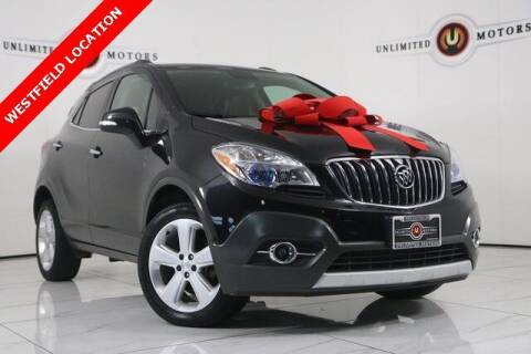 2015 Buick Encore for sale at INDY'S UNLIMITED MOTORS - UNLIMITED MOTORS in Westfield IN