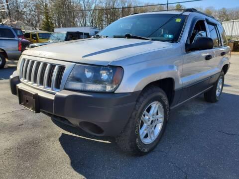 2004 Jeep Grand Cherokee for sale at MX Motors LLC in Ashland MA
