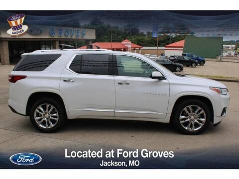 2019 Chevrolet Traverse for sale at JACKSON FORD GROVES in Jackson MO