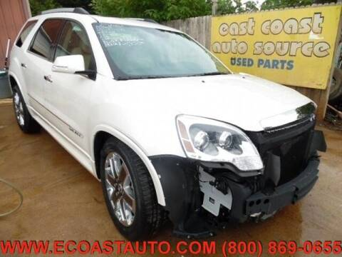 2012 GMC Acadia for sale at East Coast Auto Source Inc. in Bedford VA