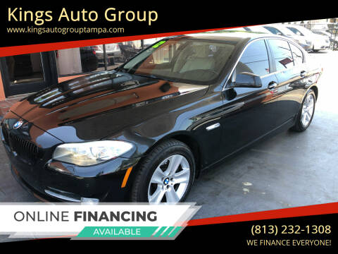 2012 BMW 5 Series for sale at Kings Auto Group in Tampa FL