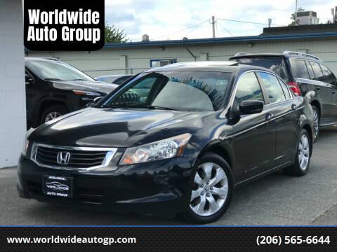 2009 Honda Accord for sale at Worldwide Auto Group in Auburn WA
