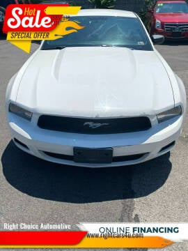 2012 Ford Mustang for sale at Right Choice Automotive in Rochester NY