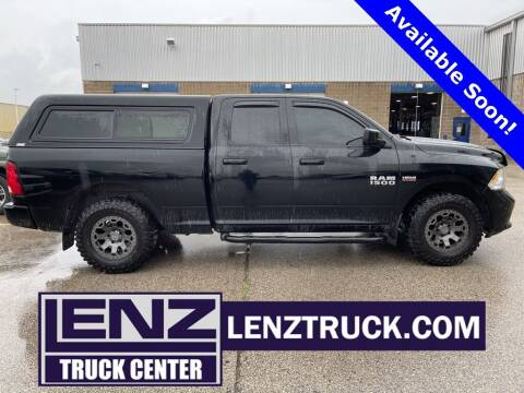 2013 RAM Ram Pickup 1500 for sale at LENZ TRUCK CENTER in Fond Du Lac WI