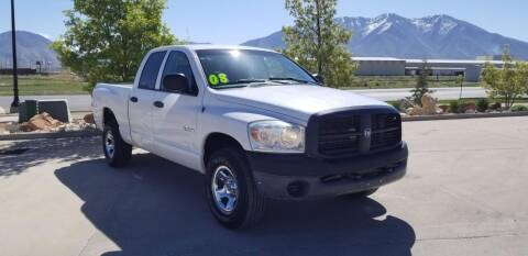 2008 Dodge Ram Pickup 1500 for sale at FRESH TREAD AUTO LLC in Springville UT