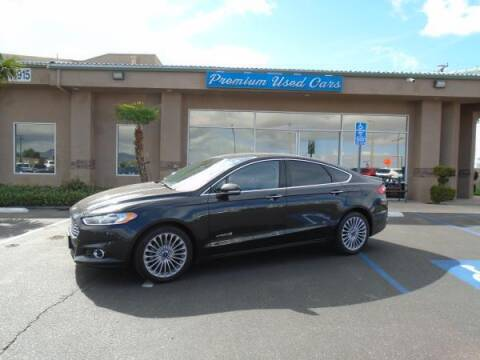 2014 Ford Fusion Hybrid for sale at Family Auto Sales in Victorville CA