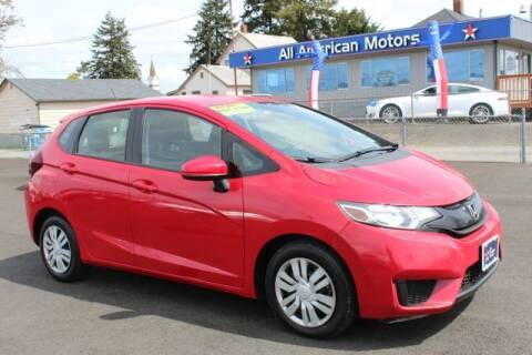2016 Honda Fit for sale at All American Motors in Tacoma WA