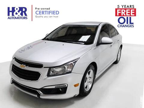 2016 Chevrolet Cruze Limited for sale at H&R Auto Motors in San Antonio TX