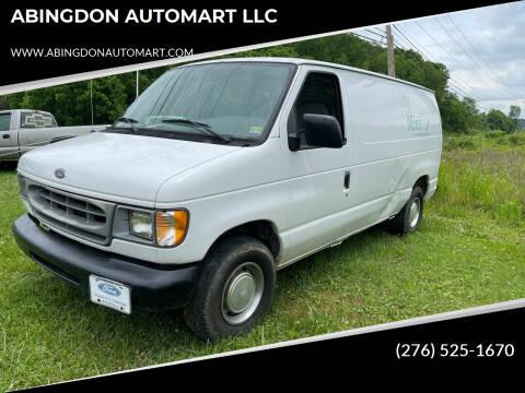 2000 Ford E-150 for sale at ABINGDON AUTOMART LLC in Abingdon VA