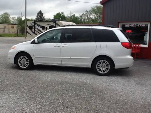 2008 Toyota Sienna for sale at MIKE'S CYCLE & AUTO - Mikes Cycle and Auto (Liberty) in Liberty IN