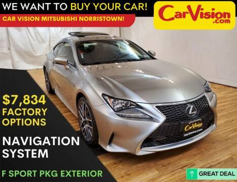 2017 Lexus RC 200t for sale at Car Vision Mitsubishi Norristown in Trooper PA