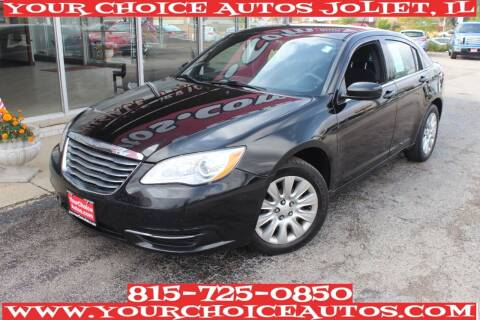 2014 Chrysler 200 for sale at Your Choice Autos - Joliet in Joliet IL