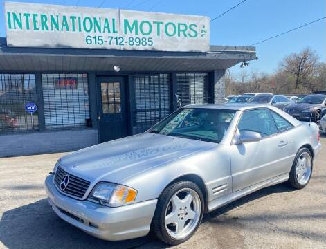 2001 Mercedes-Benz SL-Class for sale at International Motors Inc. in Nashville TN