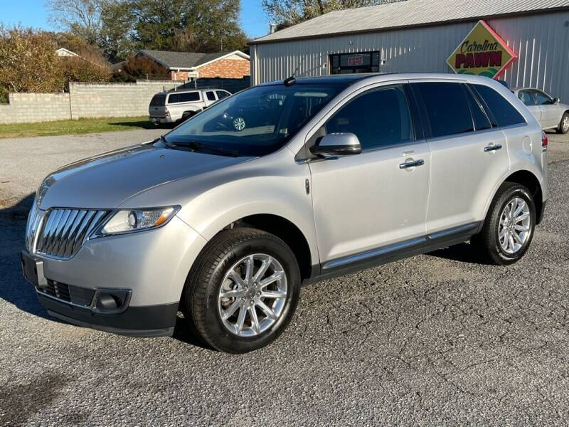 2013 Lincoln MKX for sale at Modern Automotive in Boiling Springs SC