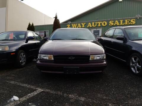 1995 Chevrolet Caprice for sale at 2 Way Auto Sales in Spokane Valley WA