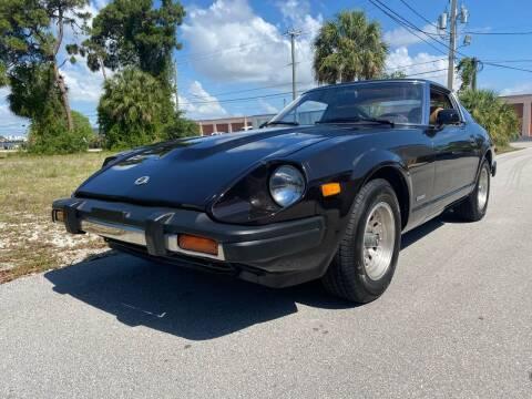 1979 Datsun 280ZX for sale at American Classics Autotrader LLC in Pompano Beach FL