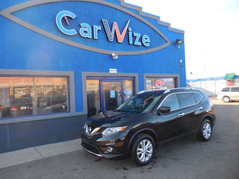 2016 Nissan Rogue for sale at Carwize in Detroit MI