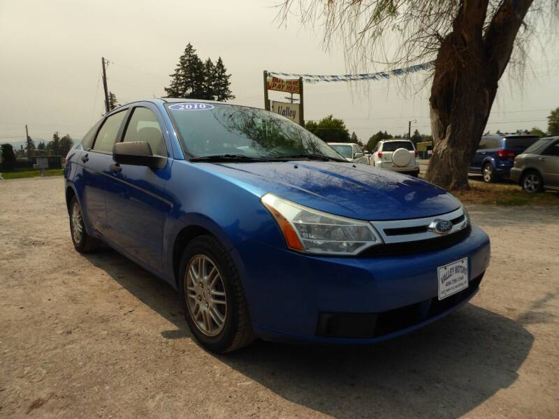 2010 Ford Focus for sale at VALLEY MOTORS in Kalispell MT