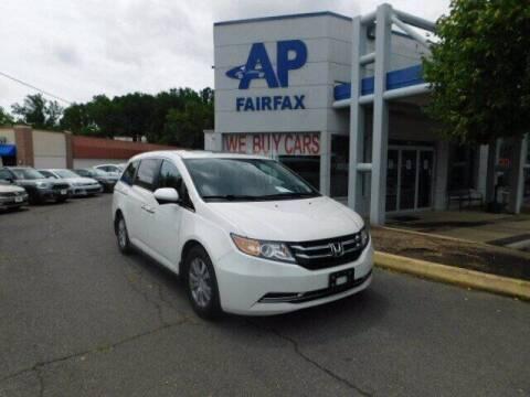 2014 Honda Odyssey for sale at AP Fairfax in Fairfax VA