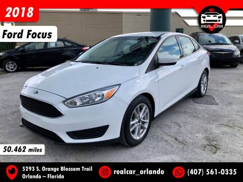 2018 Ford Focus for sale at Real Car Sales in Orlando FL