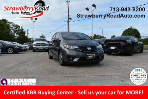 2017 Honda Fit for sale at Strawberry Road Auto Sales in Pasadena TX