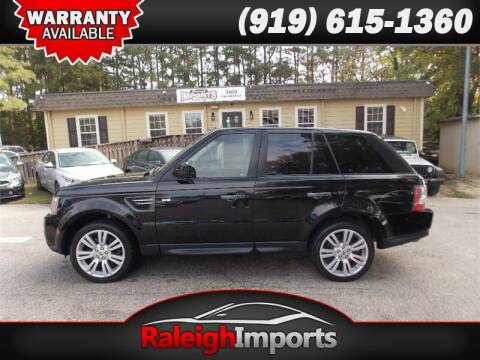 2010 Land Rover Range Rover Sport for sale at Raleigh Imports in Raleigh NC