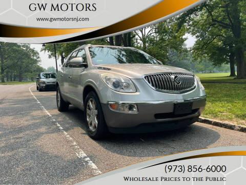 2009 Buick Enclave for sale at GW MOTORS in Newark NJ