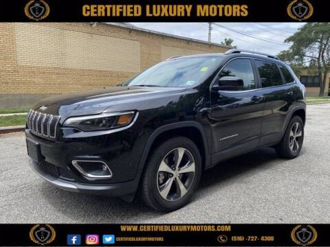 2019 Jeep Cherokee for sale at CERTIFIED LUXURY MOTORS OF QUEENS in Elmhurst NY