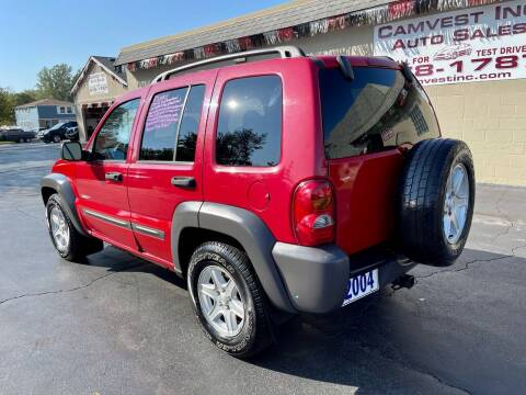 2004 Jeep Liberty for sale at Camvest Inc. Auto Sales in Depew NY
