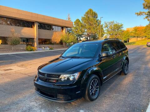2018 Dodge Journey for sale at QUEST MOTORS in Englewood CO