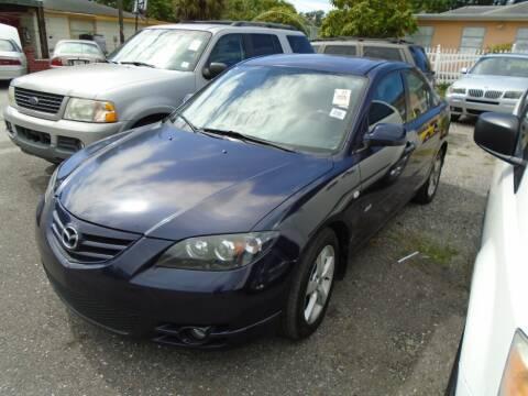 2006 Mazda MAZDA3 for sale at Bargain Auto Mart Inc. in Kenneth City FL