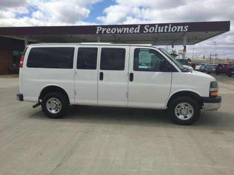 2014 Chevrolet Express Passenger for sale at Preowned Solutions in Urbandale IA