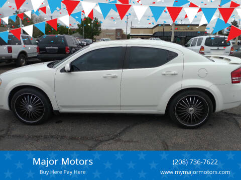 2010 Dodge Avenger for sale at Major Motors in Twin Falls ID