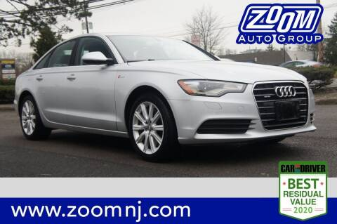 2013 Audi A6 for sale at Zoom Auto Group in Parsippany NJ