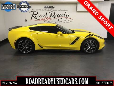 2017 Chevrolet Corvette for sale at Road Ready Used Cars in Ansonia CT