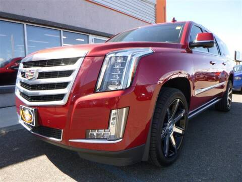 2015 Cadillac Escalade ESV for sale at Torgerson Auto Center in Bismarck ND